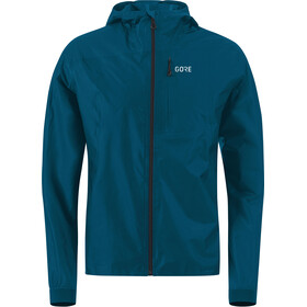GORE WEAR R7 Gore-Tex Shakedry Hooded Jacket Herren pacific blue